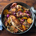 Citrus-Roasted Chicken with Grand Marnier