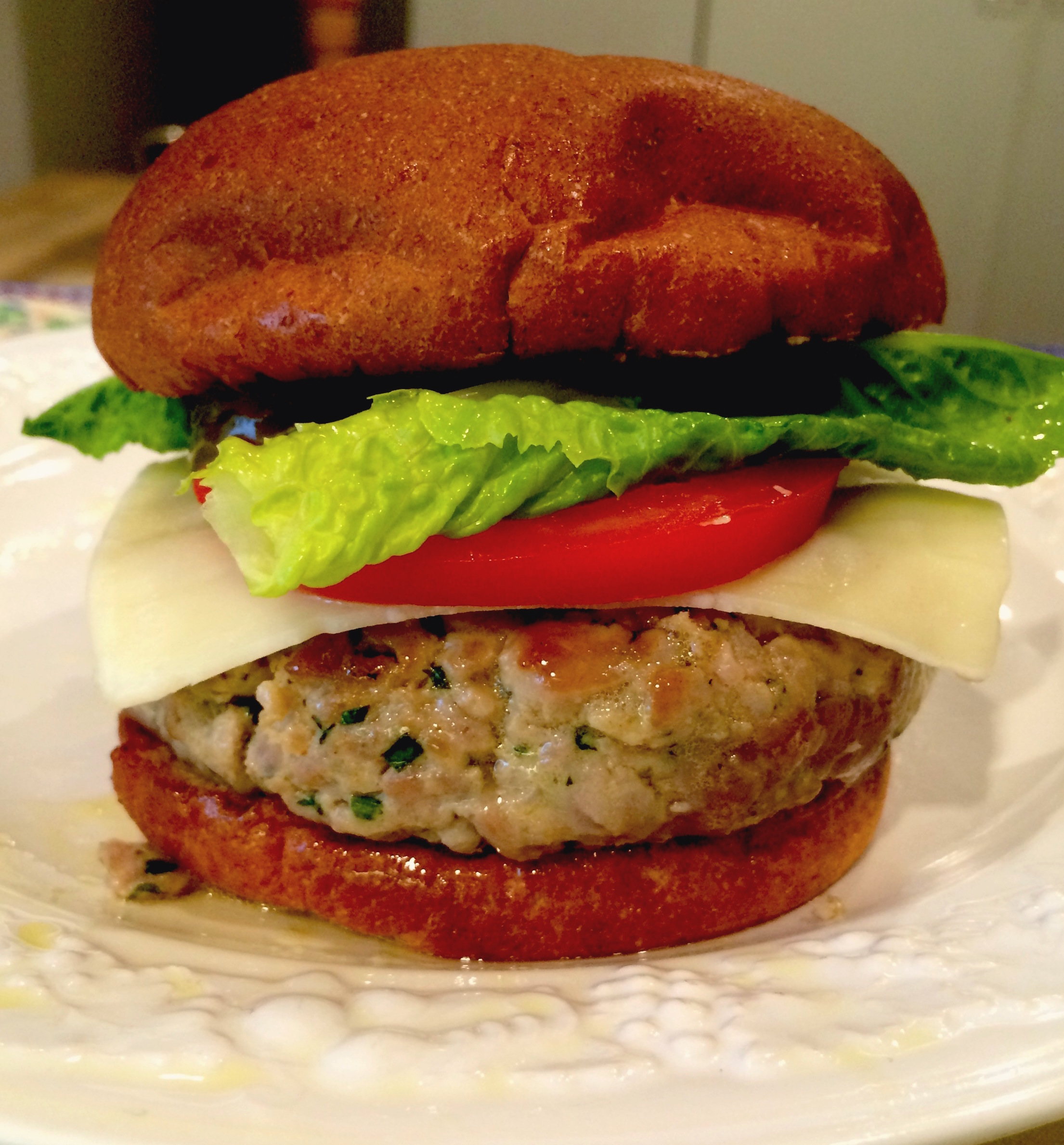 Tuna burger closed