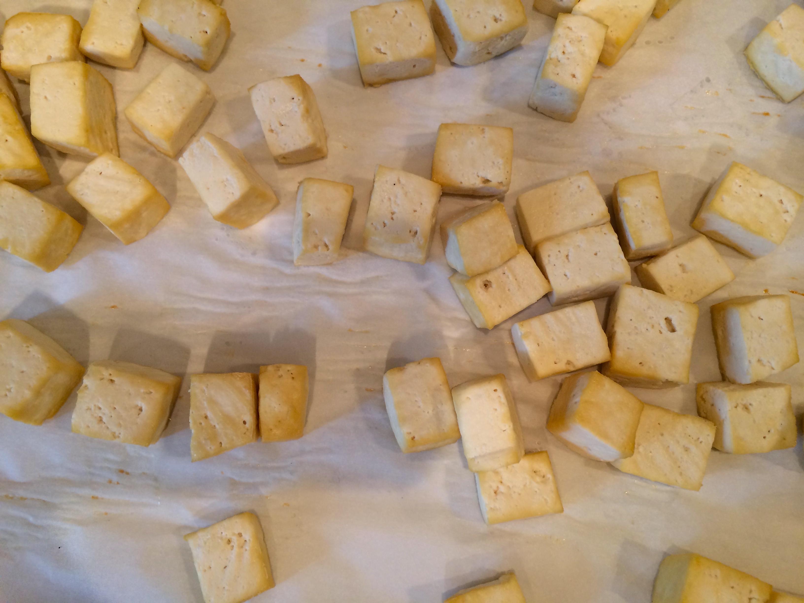 Cooked tofu Ramen soupIMG_2178