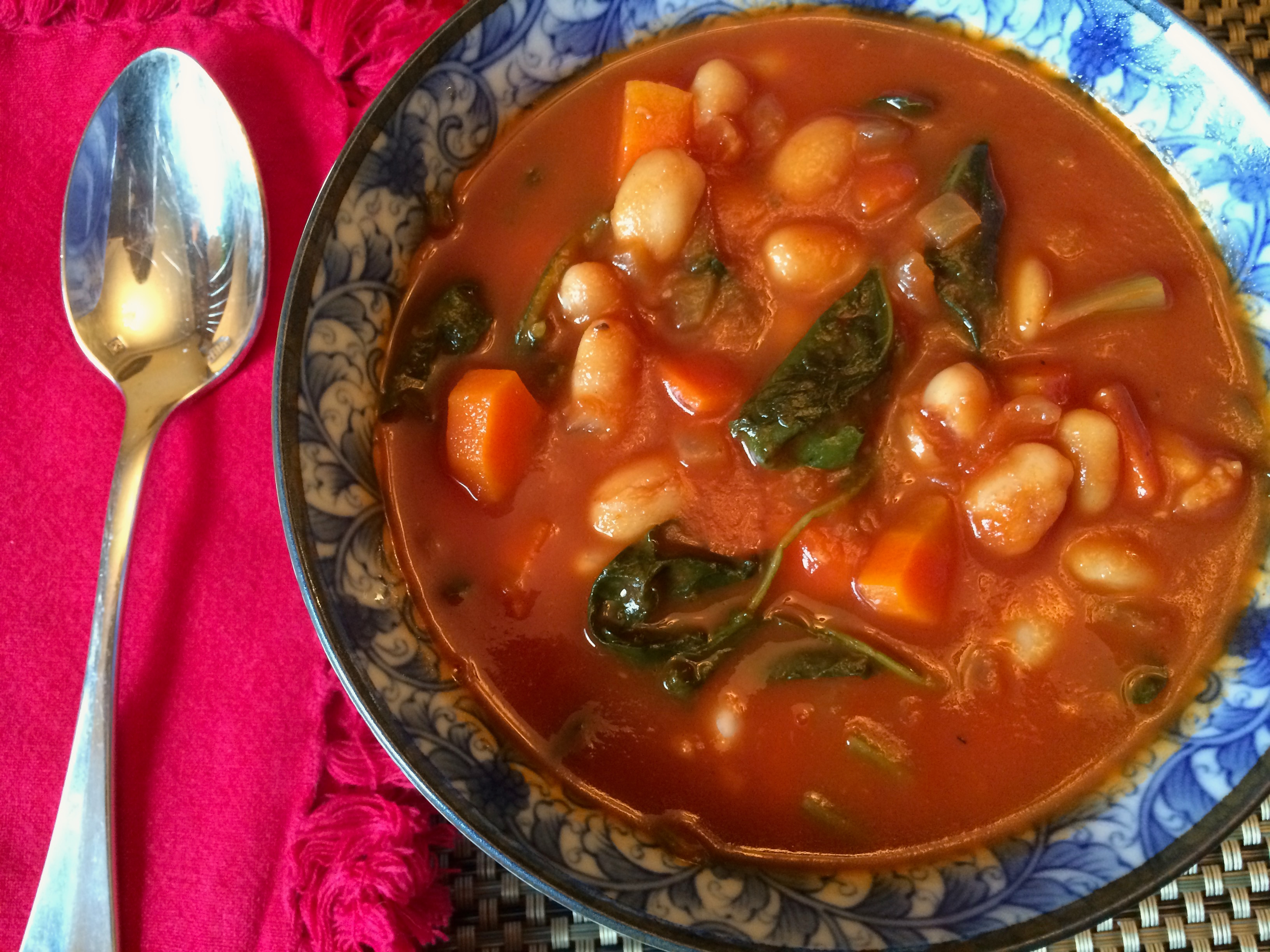 Soup w spoon