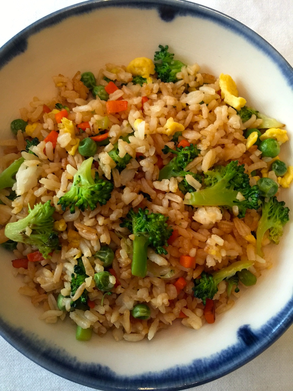 2nd plated fried rice