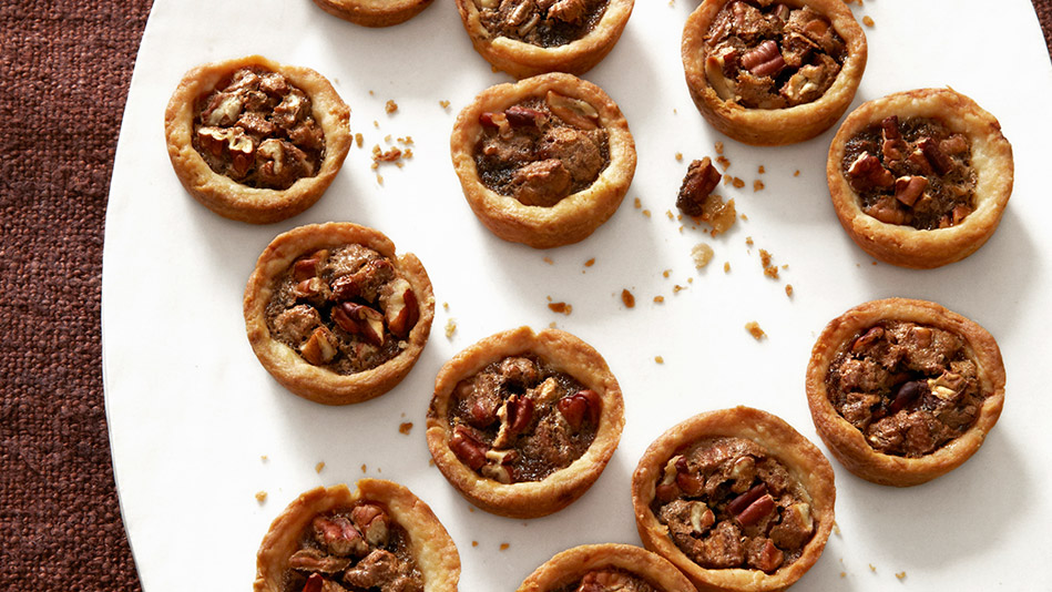 Mack and Cam's Mini Pecan Tarts
